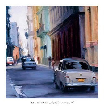 Reprodukcja Slow Ride - Havana, Cuba