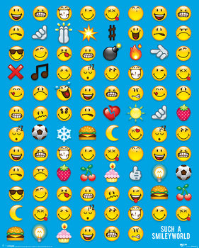 Plakat Smiley - Emoticon