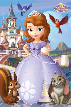 SOFIA THE FIRST - cast plakát, obraz