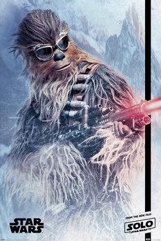 Plakát  Solo: A Star Wars Story - Chewie Blaster