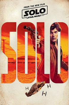 Plakát  Solo: A Star Wars Story - Solo Teaser
