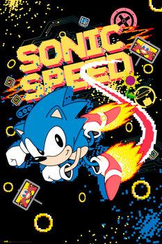 Plakat Sonic the Hedgehog - Speed