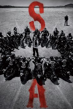 Sons of Anarchy (Zákon gangu) - Circle plakát, obraz