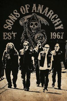 Plakát Sons of Anarchy (Zákon gangu) - Reaper Crew