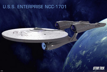 Plakát STAR TREK XI - Enterprise