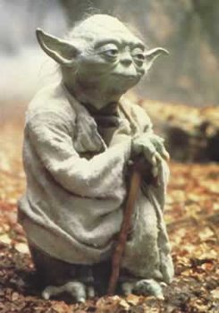 Plakat Star Wars - Empire strikes back, Yoda