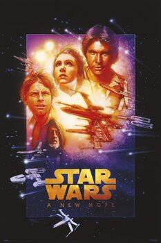 Plakat Star Wars (Gwiezdne wojny): część IV - Nowa nadzieja