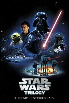 Plakat Star Wars (Gwiezdne wojny): Czesc V - Imperium kontratakuje