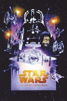 Plakat Star Wars (Gwiezdne wojny): część V - Imperium kontratakuje
