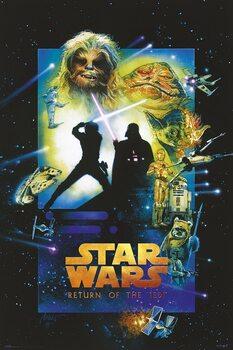Plakat Star Wars (Gwiezdne wojny): część VI - Powrót Jedi
