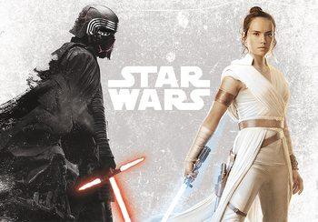 Plakát Star Wars - Kylo & Rey