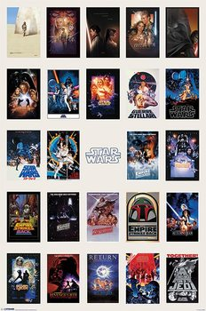 Plakát Star Wars - One Sheet Collage