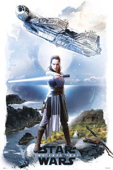 Plakát  Star Wars: Poslední z Jediů - Rey