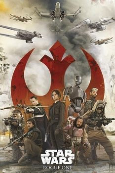 Plakát Star Wars: Rogue One - Rebels