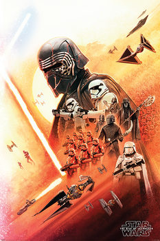 Plakat Star Wars: Skywalker - odrodzenie - Kylo Ren
