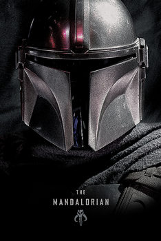 Plakat Star Wars: The Mandalorian - Dark