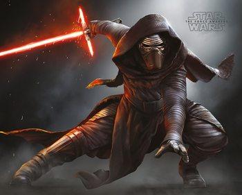 Star Wars VII: Síla se probouzí - Kylo Ren Crouch plakát, obraz
