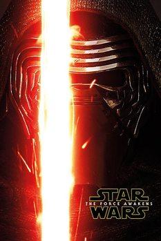 Plakát Star Wars VII: Síla se probouzí - Kylo Ren Teaser