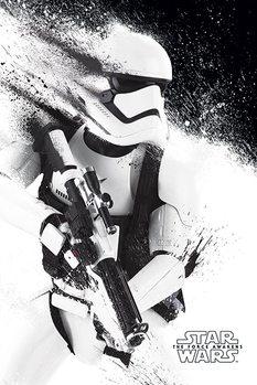 Plakát Star Wars VII: Síla se probouzí - Stormtrooper Paint