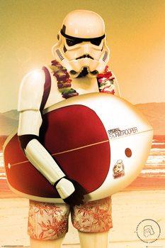 Plakat Stormtrooper - Surf