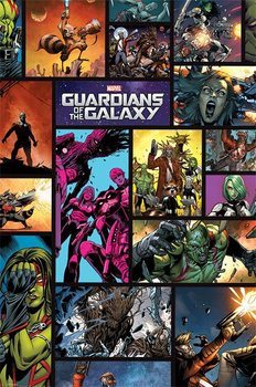 Plakat Strażnicy Galaktyki - Comics