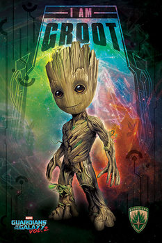 Plakat Strażnicy Galaktyki vol. 2 - I Am Groot