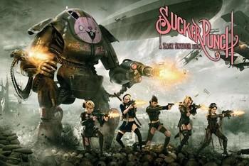 Plakát SUCKER PUNCH - battle