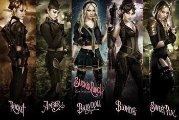 Plakát SUCKER PUNCH - girls