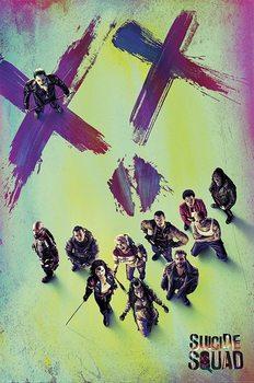 Plakát  Suicide Squad: Sebevražedný oddíl - Face