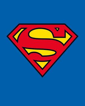 Plakát Superman - Classic Logo