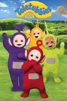 Plakát Teletubbies - Group