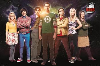 Plakát The Big Bang Theory (Teorie velkého třesku) - Cast