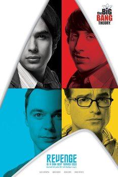 Plakát The Big Bang Theory (Teorie velkého třesku) - Revenge