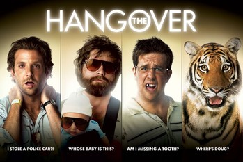 Plakát  THE HANGOVER - strips