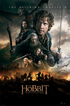 Plakát  The Hobbit BOTFA - One Sheet