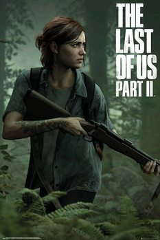 Plakat The Last of Us 2 - Ellie