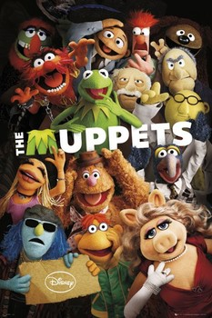 Plakát  THE MUPPETS - teaser