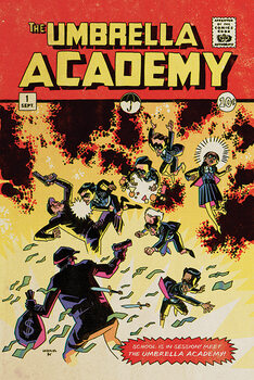 Plakat The Umbrella Academy - School is in Session