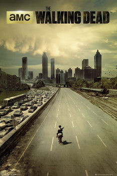 Plakát THE WALKING DEAD - city