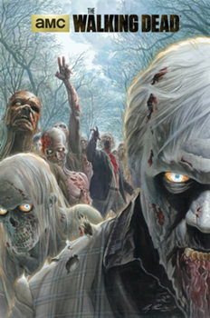 The Walking Dead - Zombie Hoard plakát, obraz