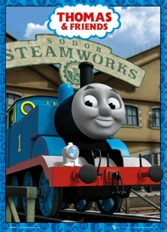 THOMAS AND FRIENDS Plakat 3D Oprawiony