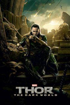 Plakát THOR 2 - loki