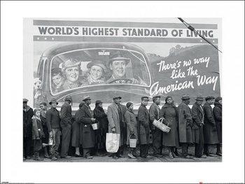 Reprodukcja Time Life - World's Highest Standard of Living