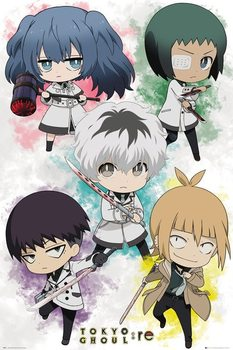 Plakát  Tokyo Ghoul - Re - Chibi Characters