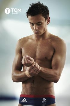 Plakat Tom Daley - trunks