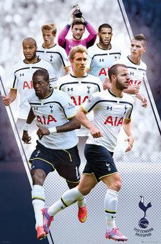 Plakát Tottenham Hotspur FC - Players 14/15