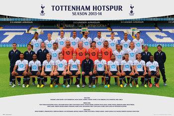 Plakát Tottenham Hotspur FC - Team Photo13/14
