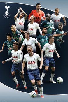Plakát Tottenham Hotspur - Players 18-19
