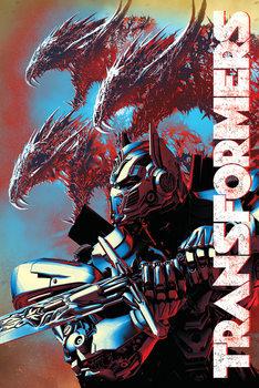 Plakat Transformers: Ostatni Rycerz - Dragons
