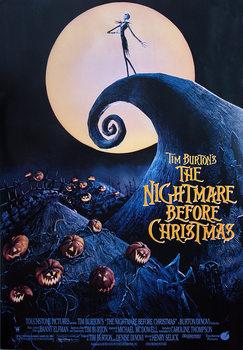 Plakát Ukradené Vánoce Tima Burtona